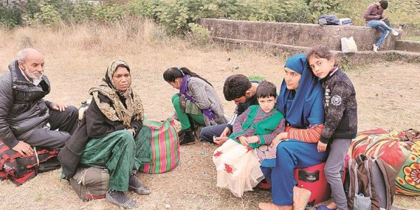 Jammu-Srinagar highway blocked: Stranded passengers wait to hear about govt plan