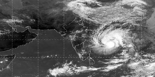 NE states including Arunachal & Tripura hit by Cyclone Bulbul, light rain elsewhere