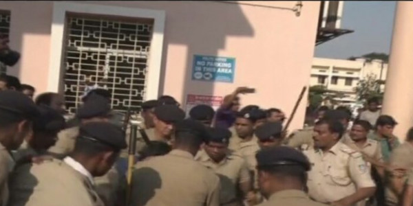 High Drama During Kunduli Gang Rape Survivor's Discharge From SCB Medical