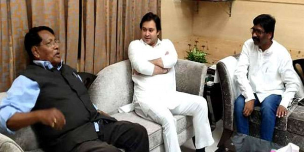 कांग्रेस, झामुमाे और राजद विधानसभा चुनाव साथ लड़ेंगे, सीटों का ऐलान आज