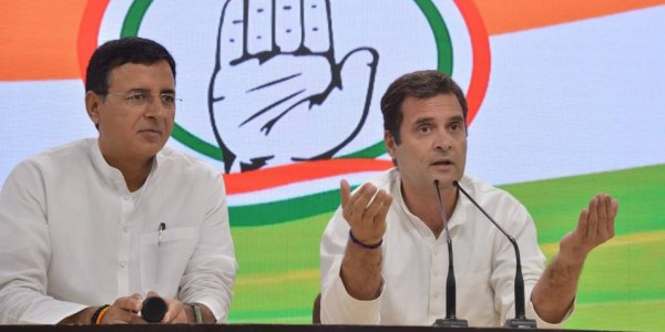 Rahul Gandhi dubs exit polls fraudulent, asks Congress workers to be alert