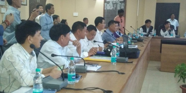 Arunachal MP reviews progress of central schemes in parliamentary segment