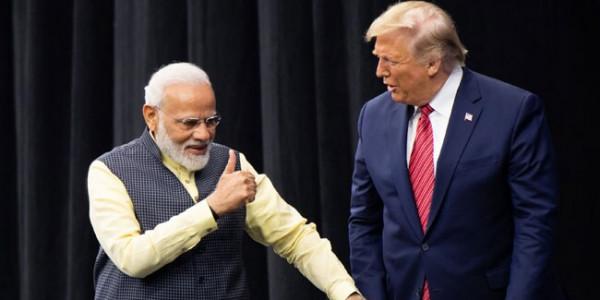मोदी के नेतृत्व में भारत मजबूत हो रहा हैं- डोनाल्ड ट्रंप