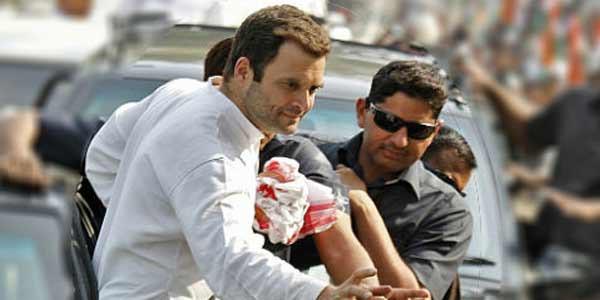 राहुल गांधी दो दिन राजस्थान दौरे पर, आज धौलपुर-भरतपुर में जनसभा