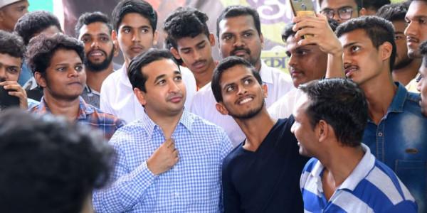 नारायण राणे के बेटे नितेश ने थामा बीजेपी का दामन, कंकावली सीट से लड़ेंगे चुनाव