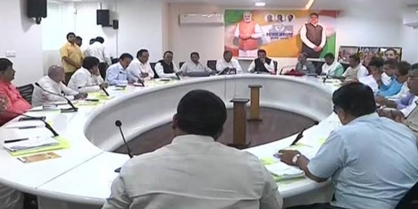 Amid Dissent Maharashtra BJP Holds a Meeting After Polls