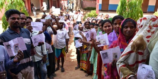 झारखंड में चौथे चरण की 15 सीटों पर मतदान शुरू