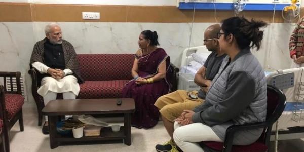 पीएम मोदी ने जगदीश ठक्कर के निधन पर जताया शोक, परिवार से मिलने पहुंचे