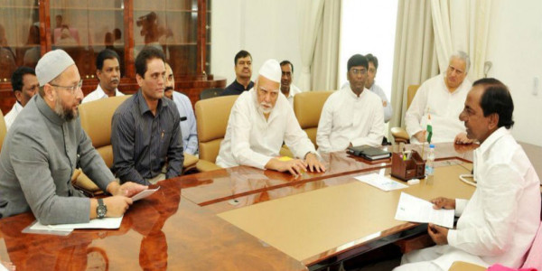 TRS-AIMIM combine jittery over BJP's rise in Telangana