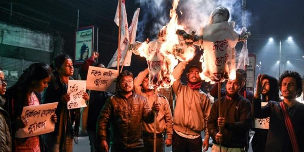 mizoram-people-protested-against-citizenship-bill