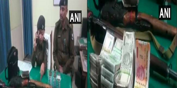 police-seized-2-rifles-cartridge-and-cash-from-mla-anant-singh-close-aide-bhushan-sing