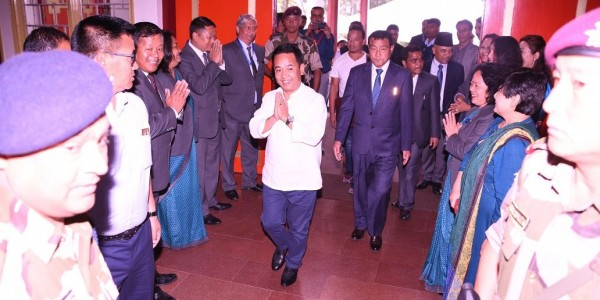 The first session of 10th Sikkim Legislative Assembly held amid SDF walkout