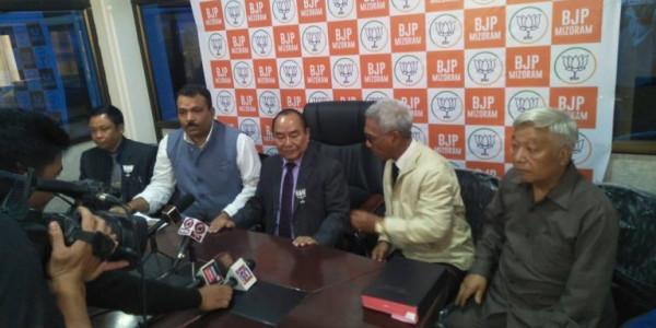 Hiphei resigns as Mizoram Speaker; leaves Congress to join BJP