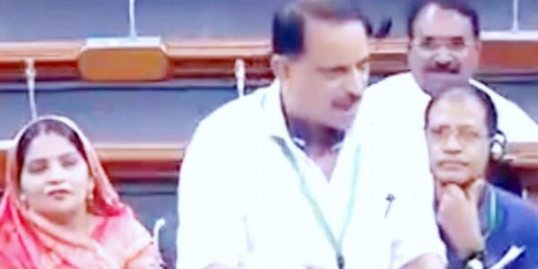 BJP सांसद राजीव प्रताप रूडी ने की पटना विवि और जयप्रकाश विवि को केंद्रीय विवि का दर्जा देने की मांग