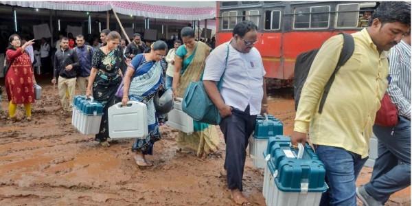 Polling starts for Vikravandi, Nanguneri Assembly bypolls