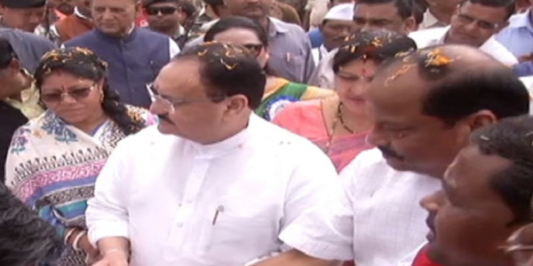 ranchi-jp-nadda-joins-the-bjp-membership-campaign-program-in-ranchi-hydak