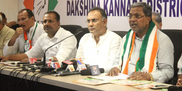 Formation of BJP Govt is Against the Constitution: Siddaramaiah to President