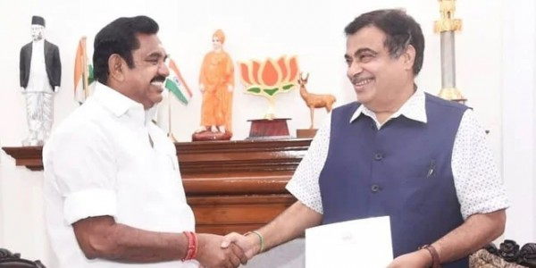 Tamil Nadu Chief Minister K Palaniswami Calls On PM, Discusses Projects