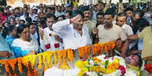 Sambhaji Patil passes away
