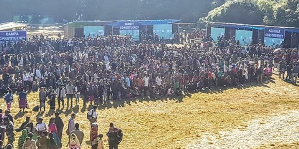 mizoram-10-per-cent-vote-cast-in-first-two-hours-turnout-expected-to-be-low