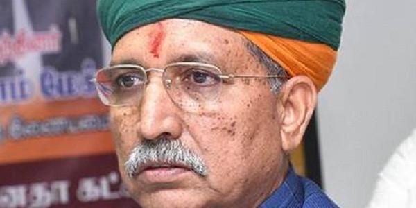 उदयपुर पहुंचे अर्जुन राम मेघवाल ने महाराष्ट्र में शिवसेना व NCP के गठबंधन को बताया अपवित्र