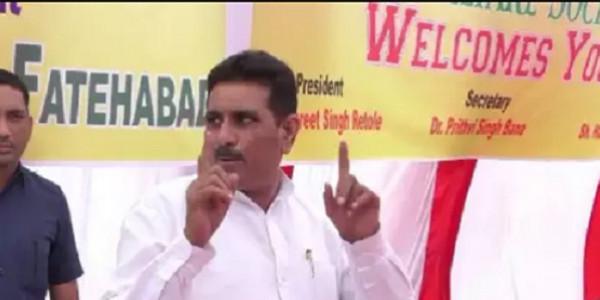 पूर्व विधायक बलवान सिंह दौलतपुरिया के लिए मुश्किल न हो जाए चुनाव लड़ने की डगर