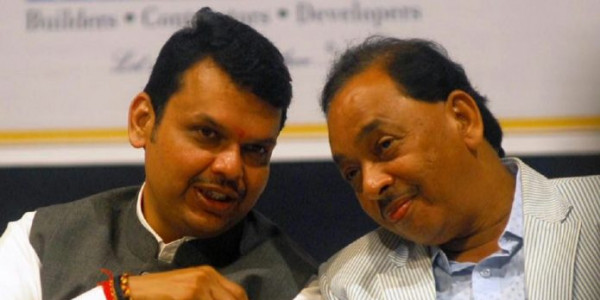 Narayan Rane meets CM Fadnavis, likely to join BJP
