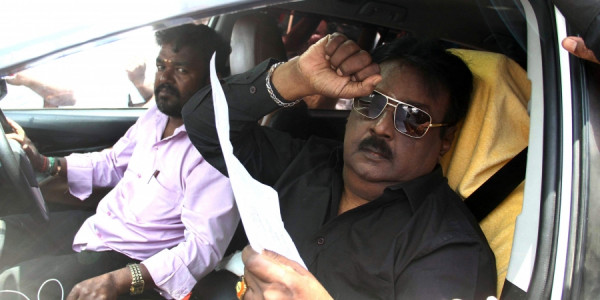 DMDK president Vijayakanth to chair meet on September 15