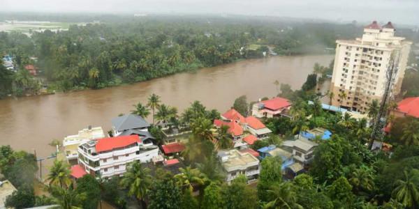Modi's aerial survey in Kochi broke off due to heavy rain