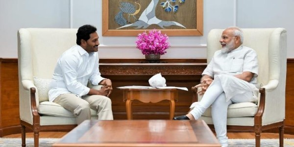 'Will keep insisting for Special Category': Andhra CM-in-waiting Jagan meets PM Modi