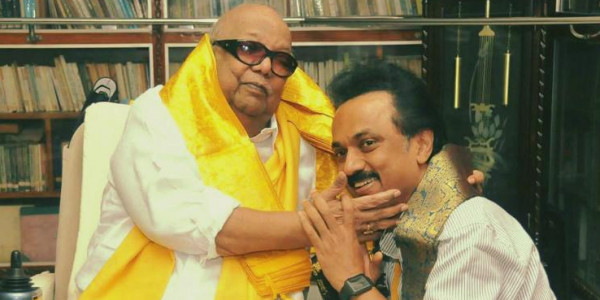 Stalin pens poem to Karunanidhi: 'This one time, can I call you Appa?'