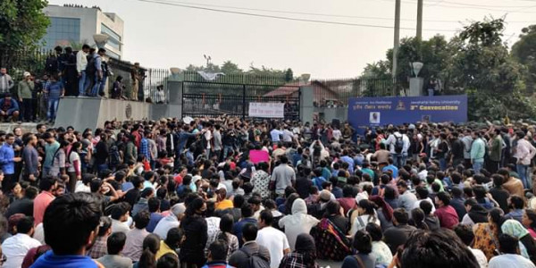 Three Metro Stations to Remain Closed Due to JNU Protest