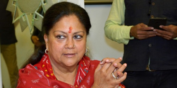 Suspense over Vasundhara Raje clouds BJP's Lok Sabha poll preparations in Rajasthan