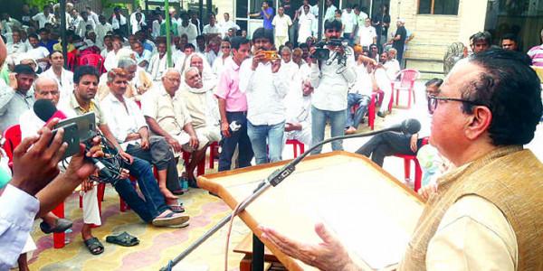 राव इंद्रजीत ने अपने नहीं, मोदी के नाम पर वोट मांगे : कैप्टन अजय