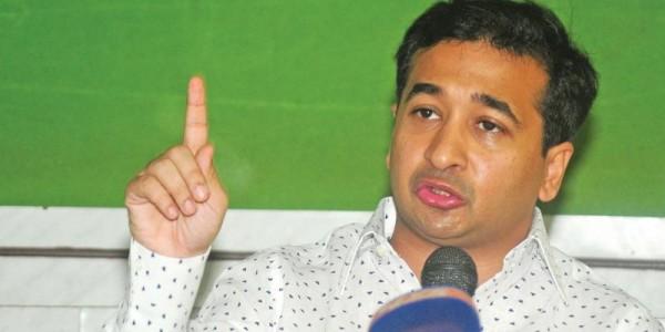 Save public instead of tending to Penguins, Nitesh Rane tell Shiv Sena leaders
