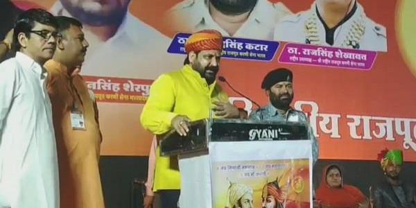 शिवराज के बाद करणी सेना की कांग्रेस को धमकी, CM कमलनाथ को कहा 'कड़कनाथ'