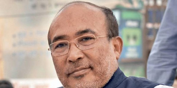 Manipur chief minister led team in Delhi to finalize Lok Sabha poll candidates