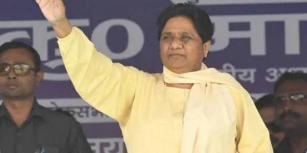 मायावती ने धार्मिक नारों की आड़ में हिंसा पर उठाया सवाल, BJP ने दिया जवाब