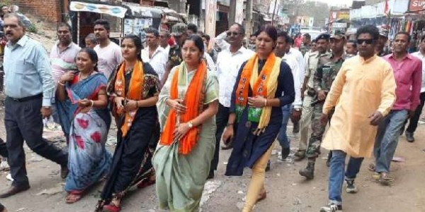 lok-sabha-annpurna-devi-seeked-support-from-voters