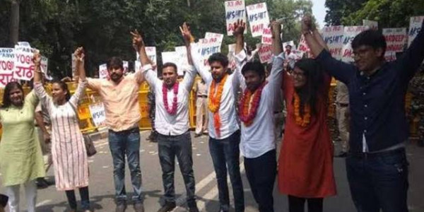 Voting for 4 Key Positions of Delhi University Students Union Today