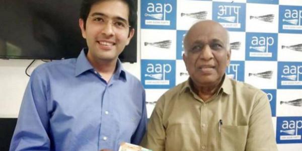 भारतीय करेंसी नोट को AAP ने बताया चाइनीज