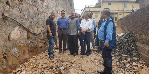MLA Sanbor Shullai Reviewed Development Works In Meghalaya