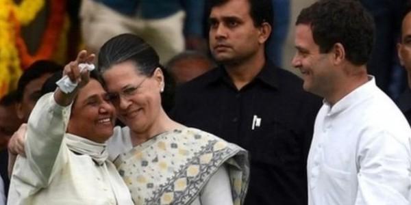 आज मायावती करेंगी सोनिया गांधी से मुलाकात