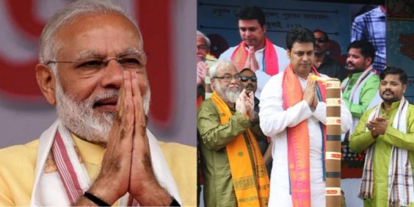 Modi greets people of Tripura on Kharchi Puja