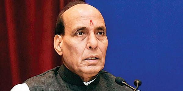 HM Rajnath Singh calls up Tamil Nadu CM & inquired about damages by Cyclone Gaja