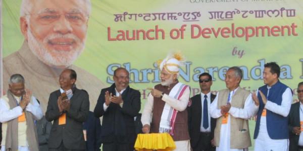 Modi vows to make NE development gateway of new India