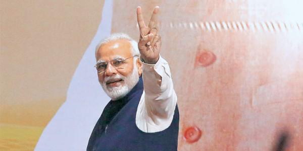 सरकार आतंकवाद को कश्मीर के केवल 'ढाई' जिलों तक सीमित करने में कामयाब रही: PM मोदी
