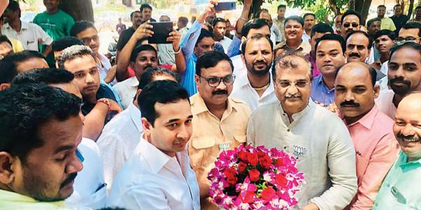 Maharashtra polls: Nitesh Rane faces tough fight from Shiv Sena-backed independent in Kankavali