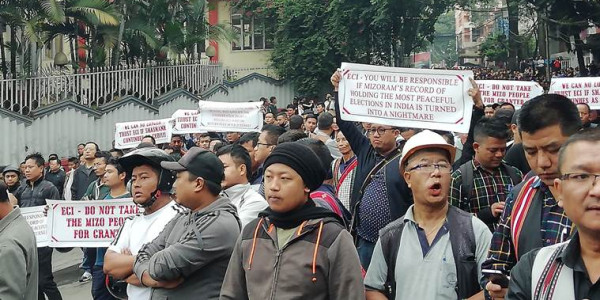 To Win In Mizoram Parties Look For Support From Civil Society Groups