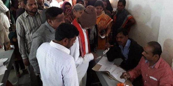 Polling for first phase of Telangana Panchayat election begins